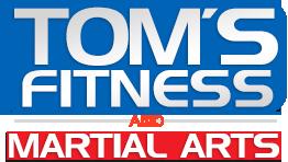 Tom's Fitness and Paris Martial Arts Logo